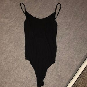 Other - Black ribbed body suit